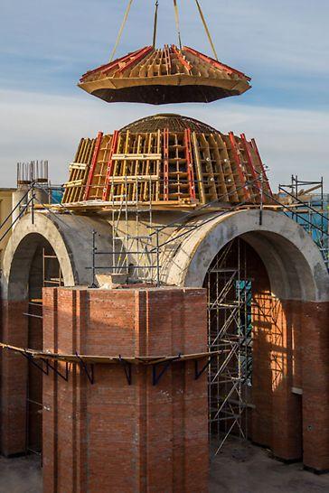 Фото Собор Казанской иконы Божией матери peri опалубка peri пери собор в казани реконструкция собора