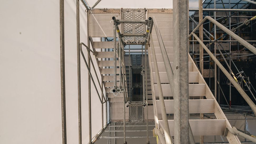 фанзона, чемпионат мира по футболу, фестиваль фанатов, FIFA 2018, мундиаль, технологический проход, маршевая лестница