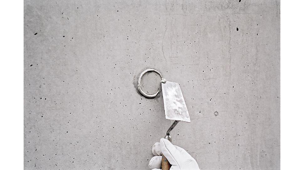 Montering betongkonus