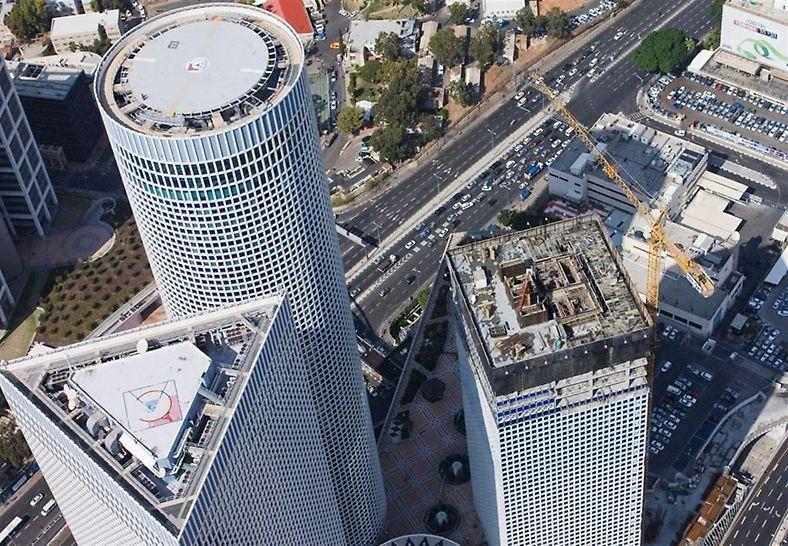 מגדל עזריאלי המרובע- תל אביב
