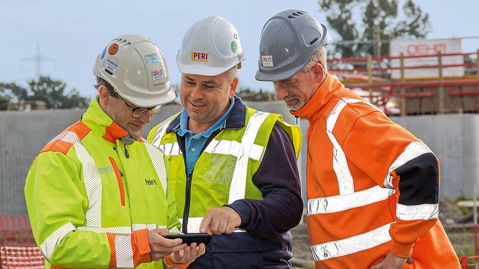 PERI Ingenieure unterstützen das Brückenbauvorhaben mit einer umfassenden Gesamtlösung und einem kompetenten Baustellensupport.