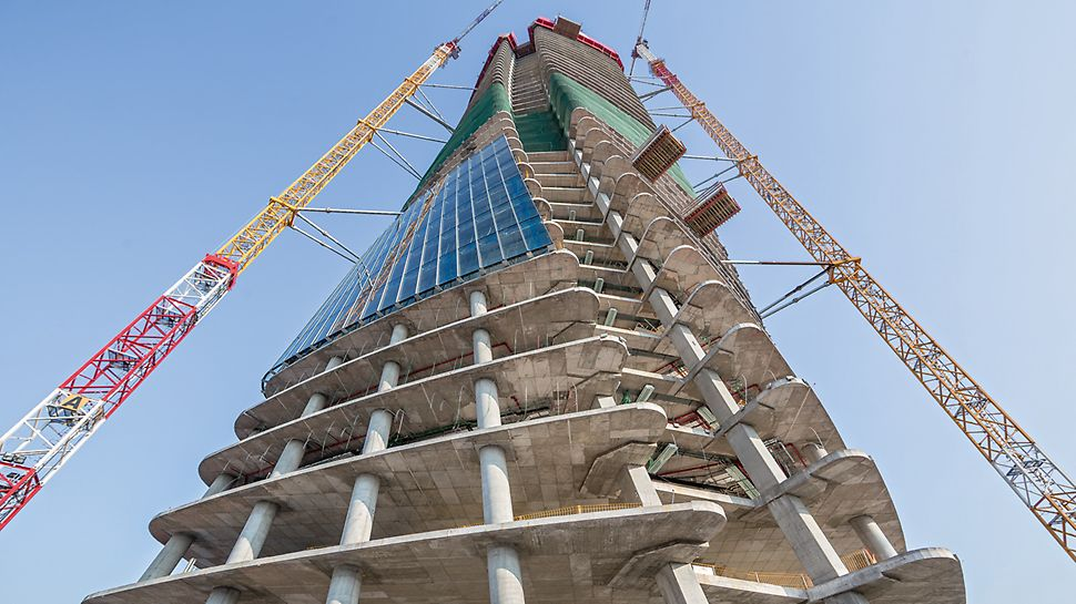 Lo Storto, The Twisted One, the future administrative building of the Generali Insurance Group