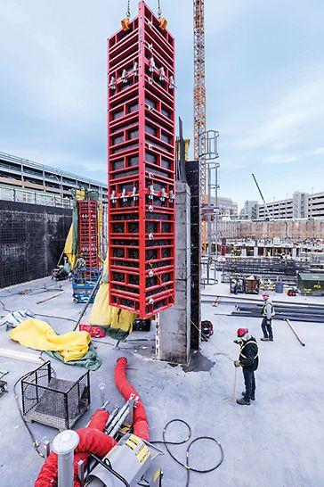 Ein zusätzlicher Erfolg: Die TRIO TRS 120 Säulen wurden innerhalb des Projekts weltweit zum ersten Mal verkauft und befinden sich somit seit 2018 erfolgreich im Einsatz.