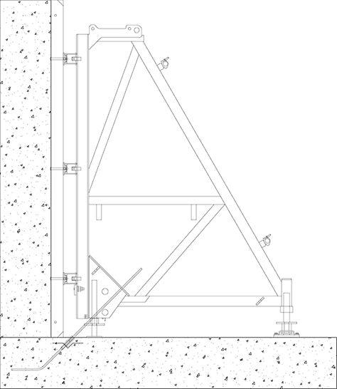 Innfesting ensidig støttebukk 15mm