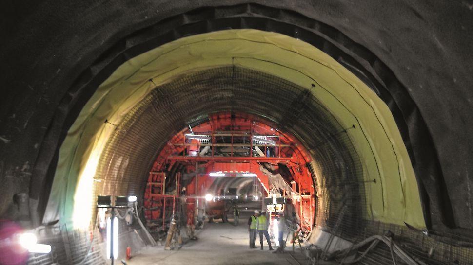 Metro de Argel - Linha e Estações - Trabalhos de impermeabilização