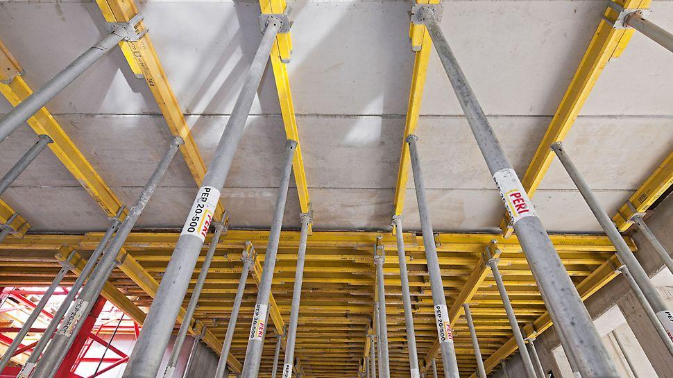 Deskowanie stropowe MULTIFLEX dla stropów Filigran oraz wylewanych na mokro.
