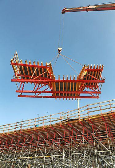 גשר 301 - יחידת הנפה של תבנית מרחבית