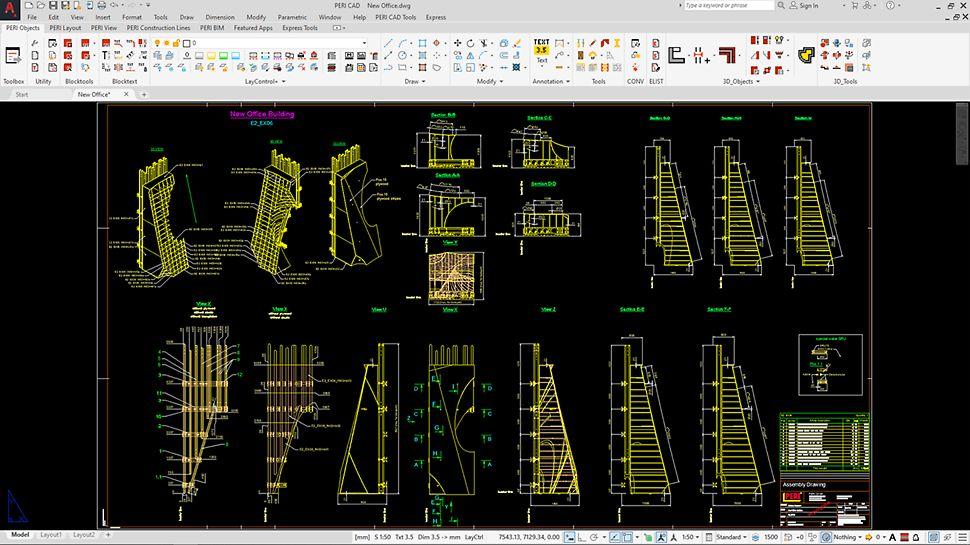 Anschauliche Darstellungen mit übersichtlichen und detaillierten Plänen dank 3D-Ausarbeitungen und Visualisierungen.