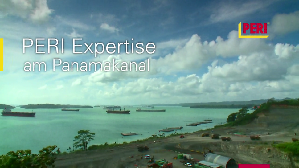 Panama Canal video from PERI, supplier of formwork and scaffolding  products