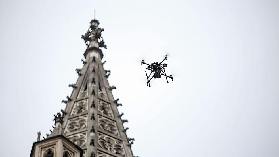 Model 3D din aer: Moselcopter GmbH efectuează măsurători la scară pentru diferite zone de aplicare folosind drone.