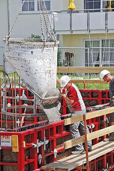Die MAXIMO 270 Rahmenschalung - Schnell betonieren trotz geringer Ankeranzahl