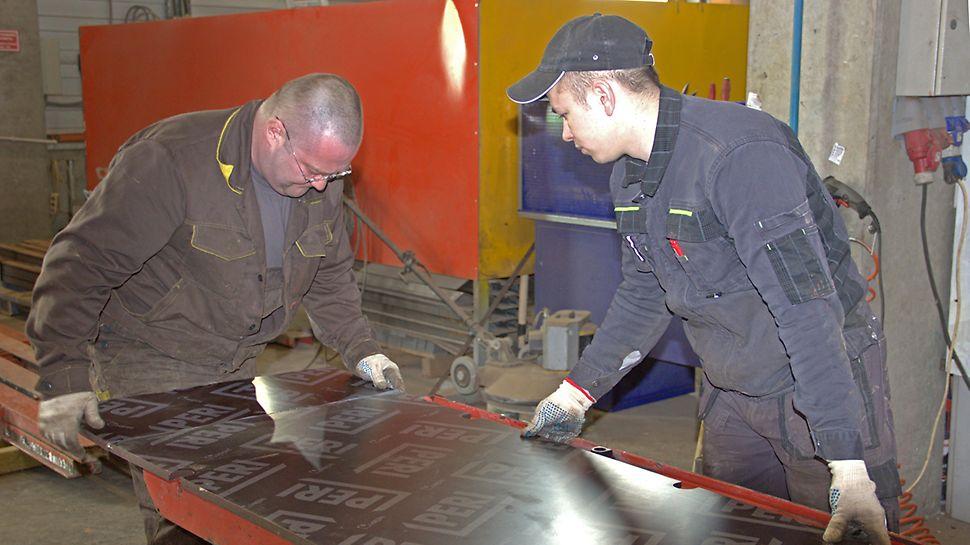 замена фанеры, ремонт опалубки, замена фанерной палубы