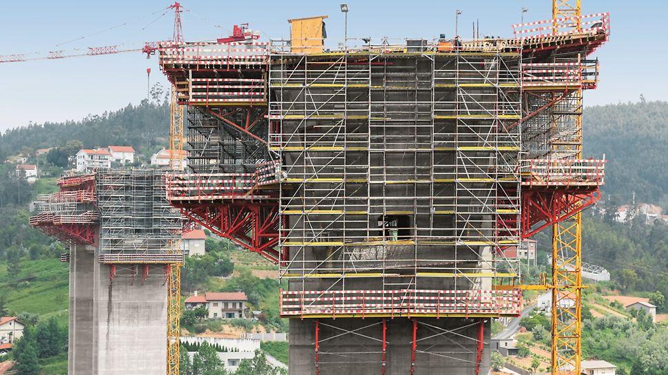 Subconcessão do Pinhal Interior, IC3 lanço Condeixa/Coimbra - Ponte sobre o Rio Ceira - Aduela 0 do Pilar P2