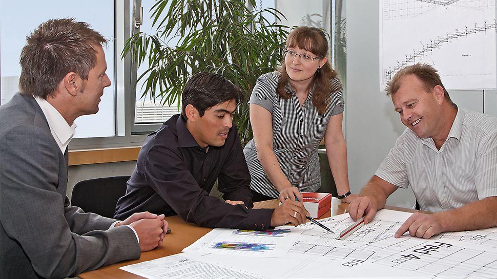 PERI erstellt prüffähige Statische Berechnungen gemäß den aktuell gültigen Bauvorschriften.
