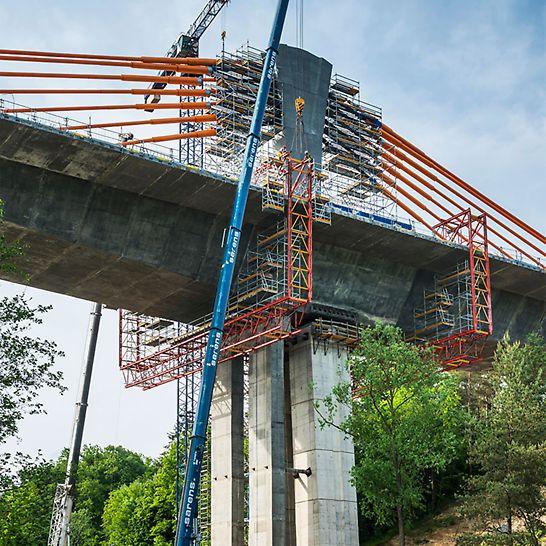 Most MS-3 w ciągu drogi krajowej DK 16, Obwodnica Ostródy