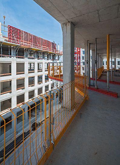 Progetti PERI - Complesso di Hirschgarten MK 4, Monaco, Germania: PROKIT e piattaforme di carico RCS MP