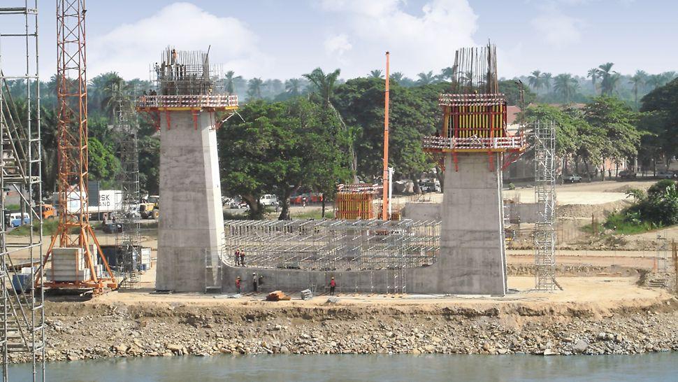 Ponte sobre o Rio Catumbela, Angola