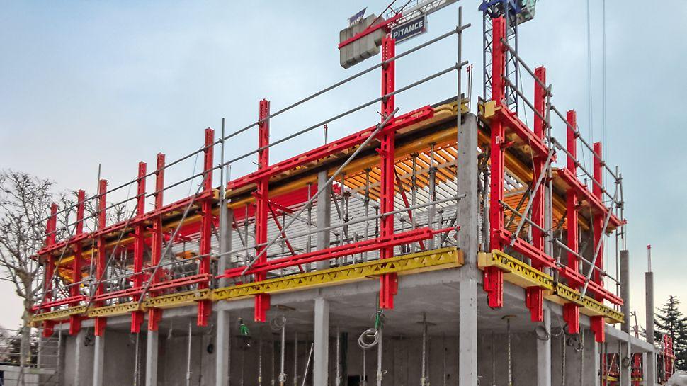 FTF Fassadenschalung - Schnell, flexibel und sicher schalen mit Fertigteilen.