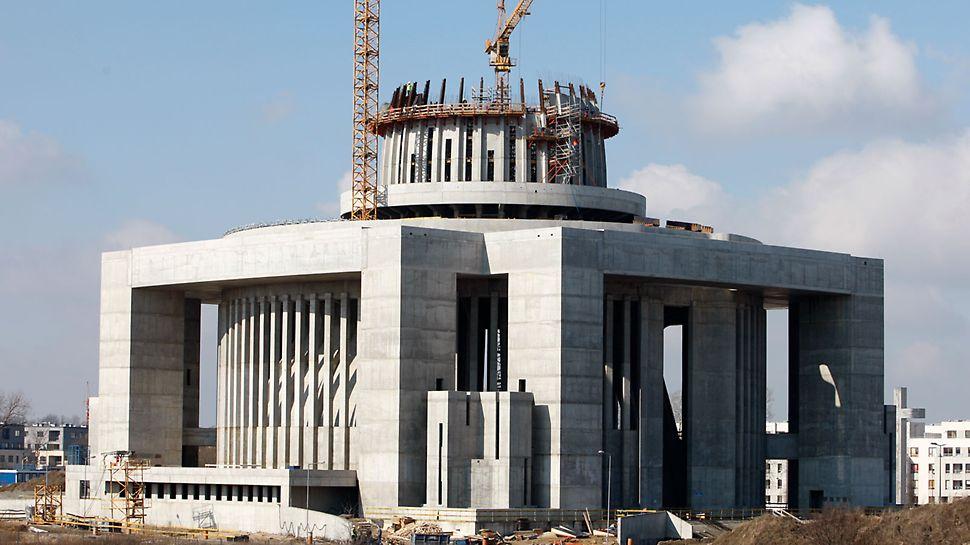 """Chrám Božské prozřetelnosti: """"Chrám Božské prozřetelnosti"""" patří k nejvýznamějším polským sakrálním stavbám posledních tří staletí."""