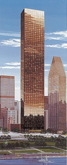 Trump World Tower III, New York, USA - The finished Trump World Tower on United Nations Plaza is regarded as the world´s largest and most exclusive residential building project for the new century.