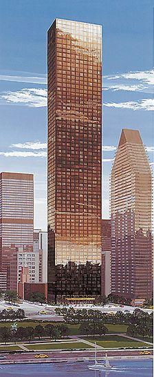 Trump World Tower III, New York, USA: Dokončená budova Trump World Tower na United Nations Plaza je největším exkluzivním bytovým projektem nového století.