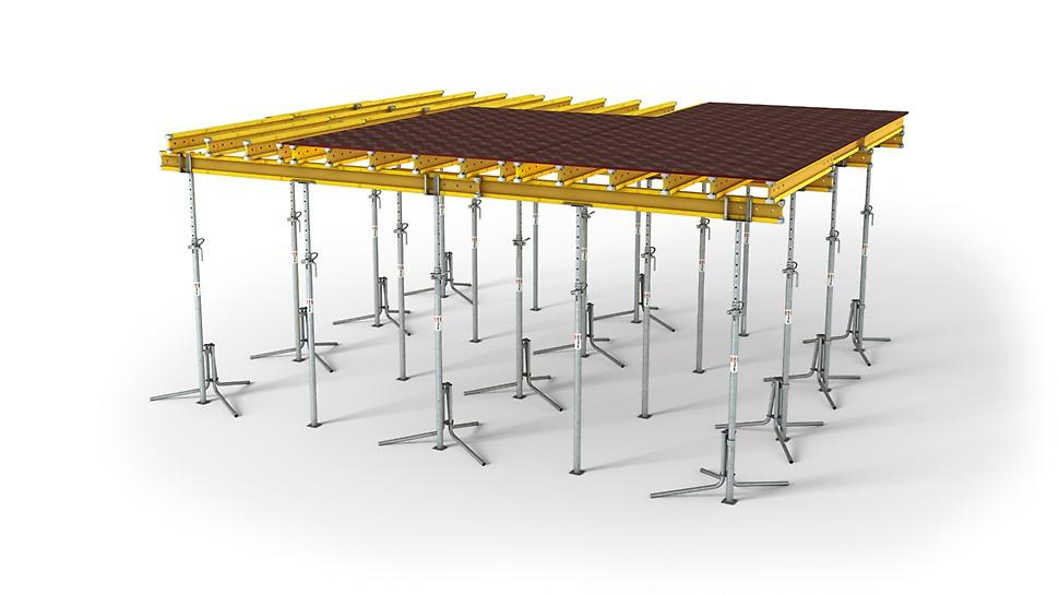 Fleksibilna i prilagodljiva stropna oplata s GT 24 nosačem oplate
