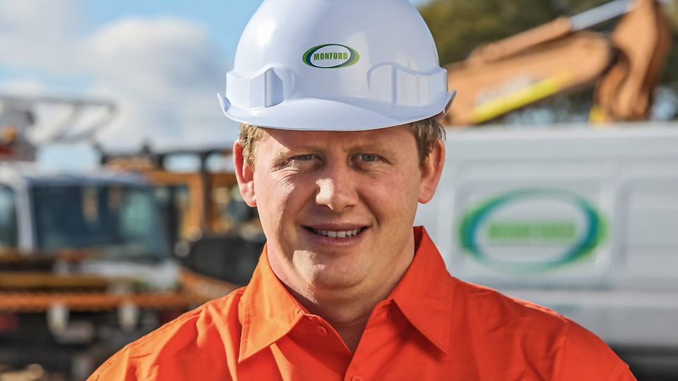 Declan White, CEO, Monford Group, Australië