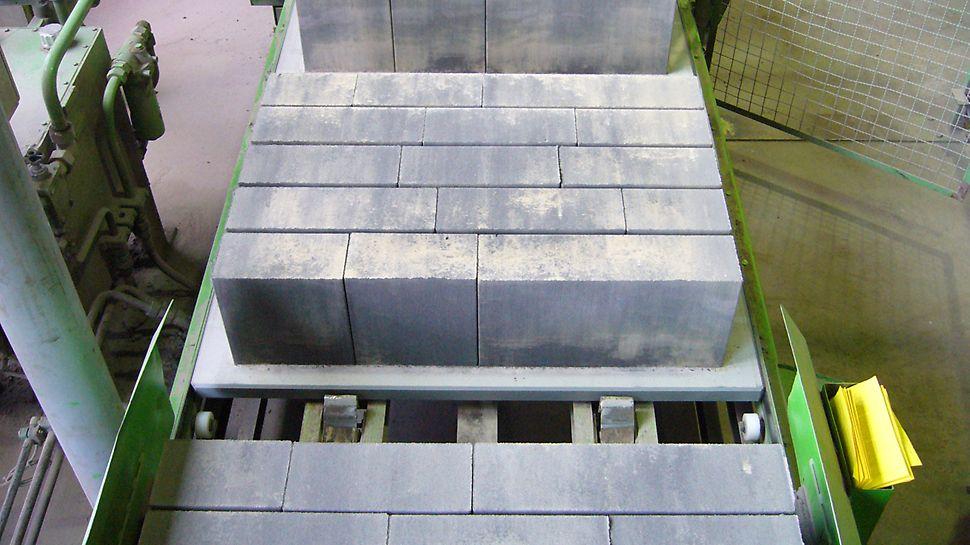 Wysoka nośność przy niewielkim ciężarze własnym dzięki stabilnej wielowarstwowej konstrukcji.