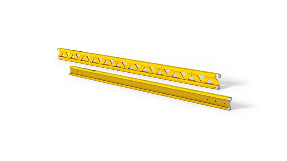 The flexible and adjustable slab formwork with VT 20K or GT 24 Formwork Girder