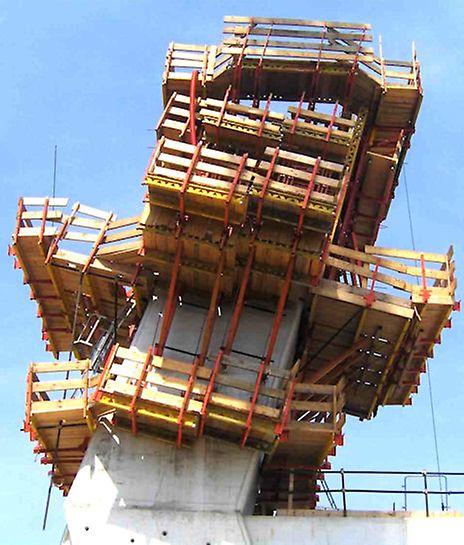 Progetti PERI Italia: cassaforma VARIO, pre-assemblata e pronta all'uso, per un ottimo risultato estetico della finitura superficiale del calcestruzzo