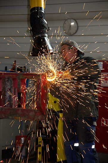 Шлифовка опалубки, ремонт опалубки, клиентский сервис