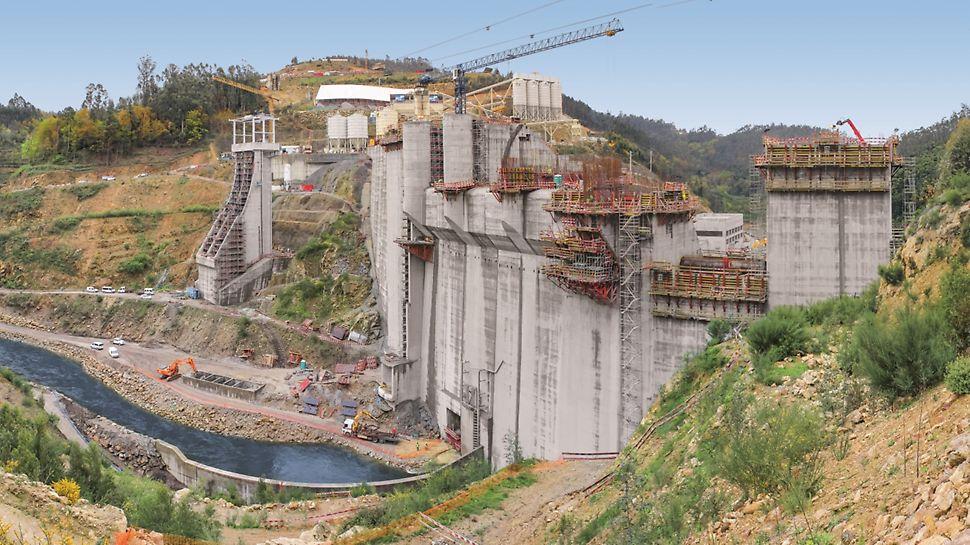 Aproveitamento Hidroeléctrico de Ribeiradio-Ermida - Vista geral