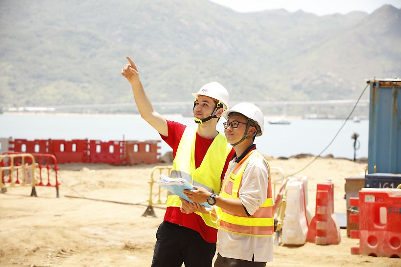 On-site supervision was provided to ensure smooth construction