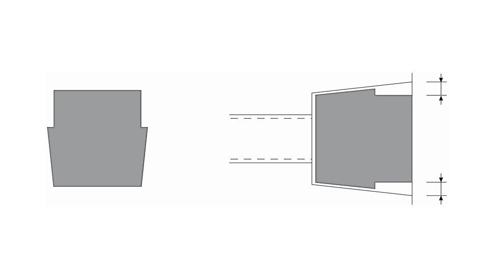 Arkitektonisk overflate 15710