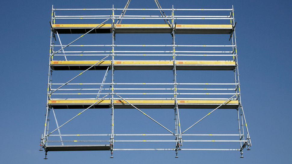 Szybka ocena zapotrzebowania na materiał dzięki modułowej konstrukcji.