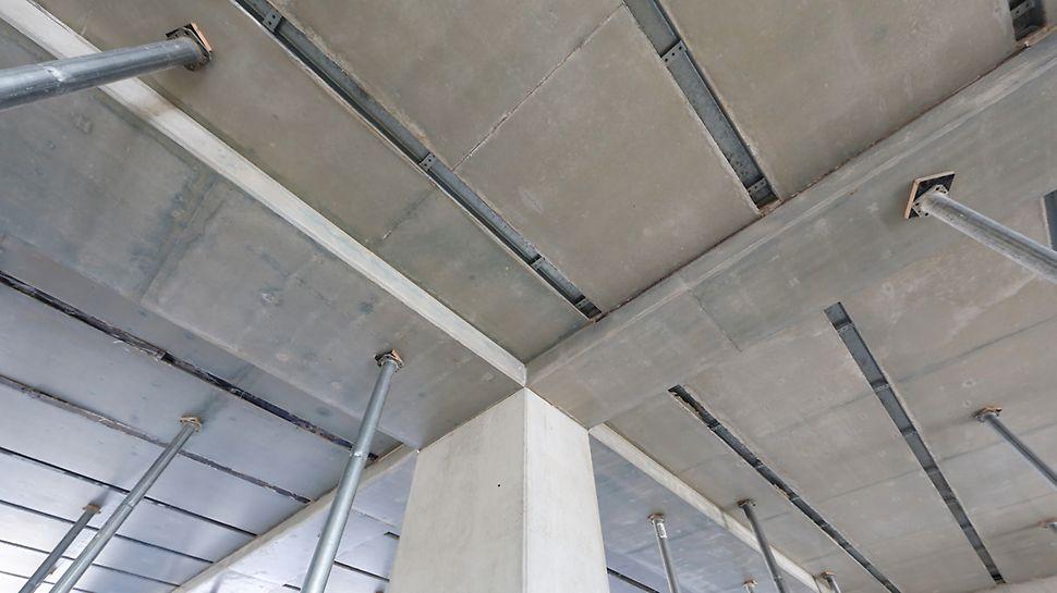 Wykończenie przerw roboczych w połączeniu elementów pionowych i poziomych konstrukcji.