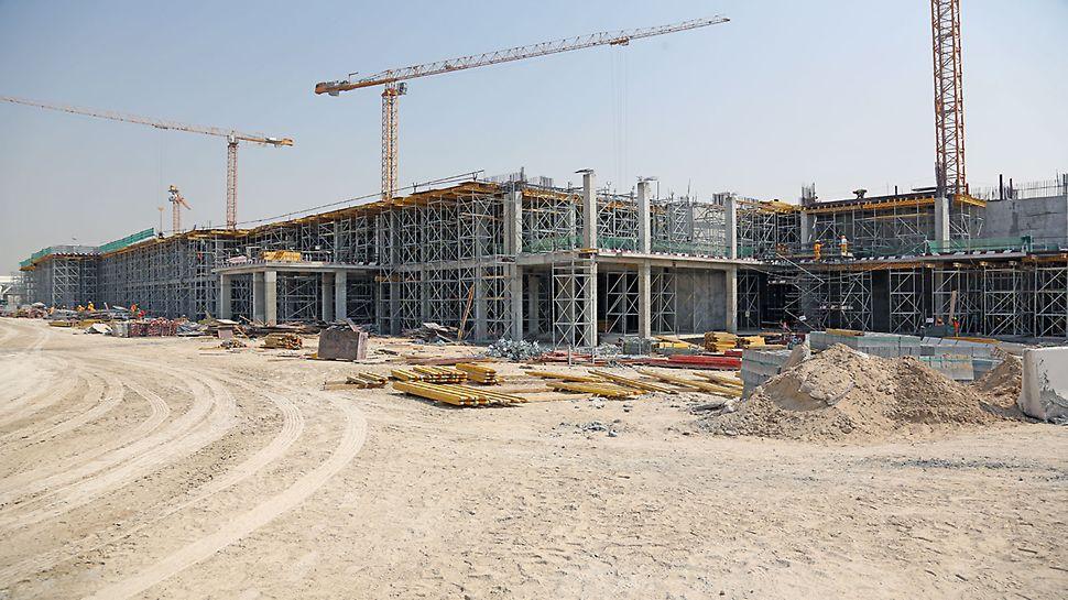 Multipurpose development including recreational facilities