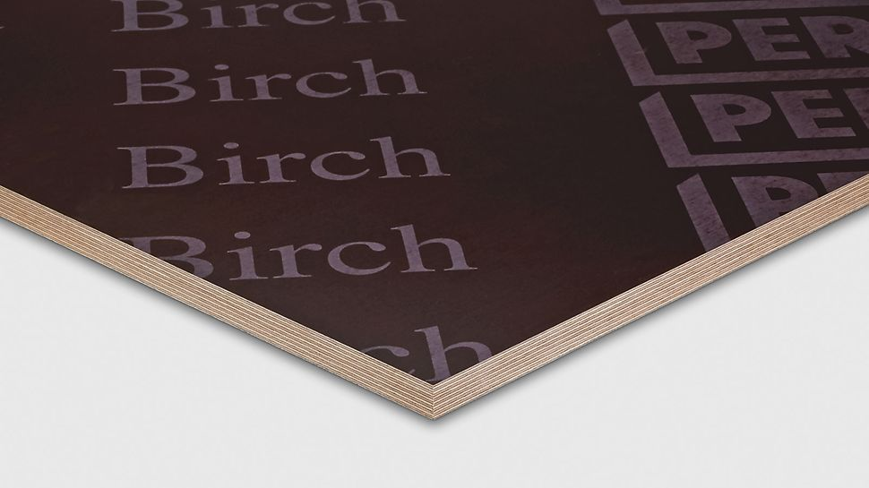 Preglejka Birch PERI sa používa vo všetkých oblastiach pre steny a stropy.