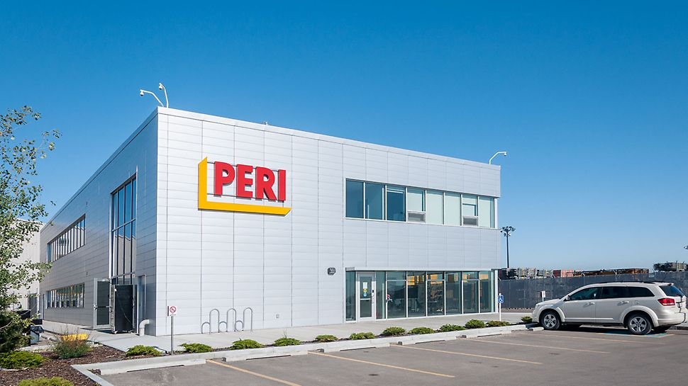 PERI entered the Canadian market in 1998. This  was the start of a very successful penetration into the formwork , shoring and scaffolding market.