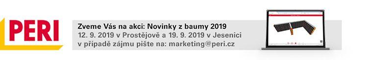 Produktový den PERI - Novinky z baumy 2019