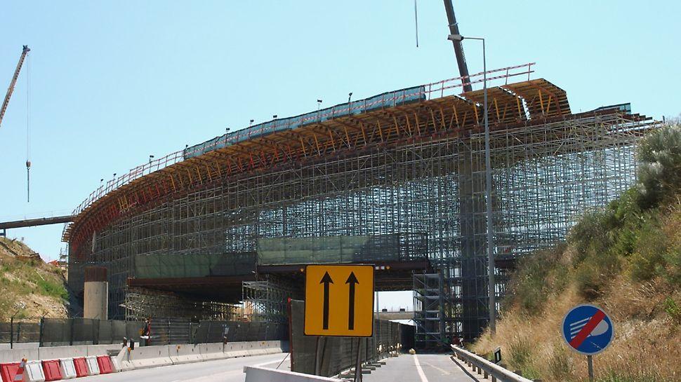 Eixo Norte/Sul Lisboa - Vista geral dos sistemas vigados sobre a CRIL