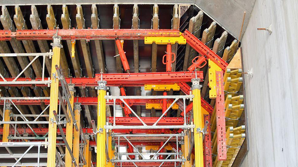 Vigerslev Tunnel - Tunnelform med MULTIPROP tårne