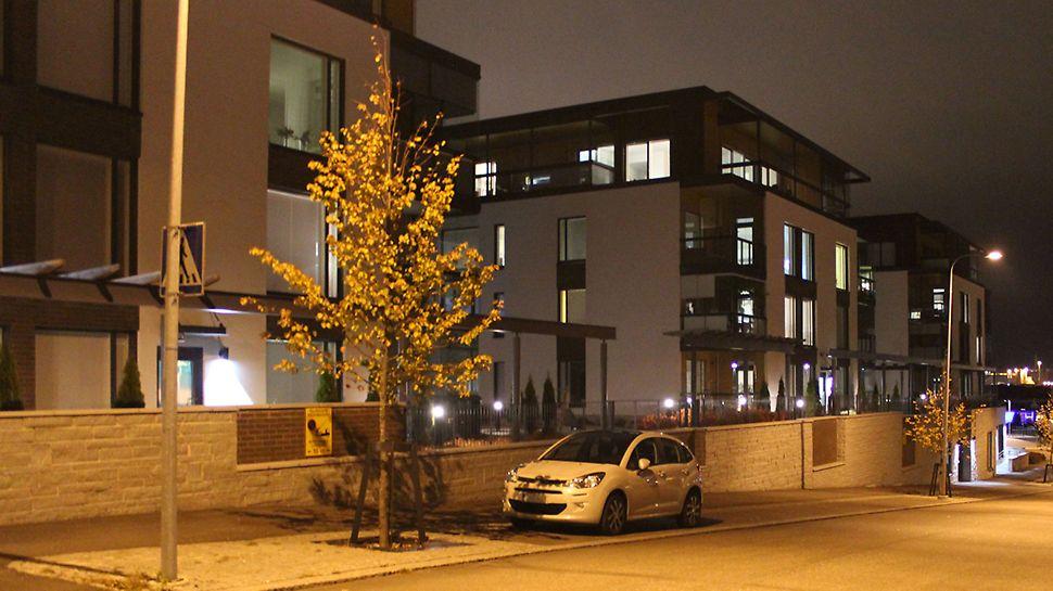 Tätä asuntokohdetta valmisteltaessa ehdottomana lähtökohtana oli olemassa olevan kaupunkikuvan kunnioittaminen.