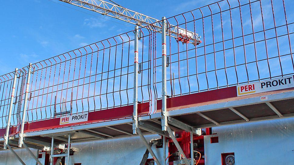 MAXIMO-, TRIO- sekä MXH-järjestelmän kanssa sopiva MXK-työtasojärjestelmä on äärimmäisen turvallinen maassa asennettavien osiensa vuoksi.
