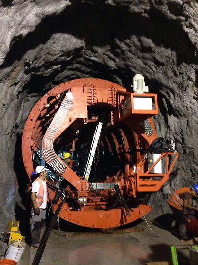 C.H. de Xacbal-Delta - Túnel de Aducción