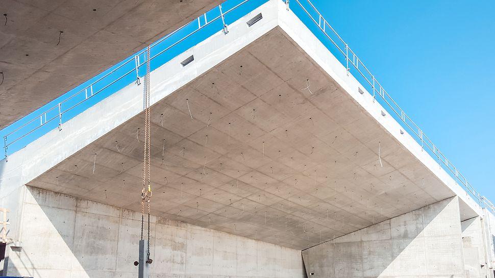 Færdige betonoverflader