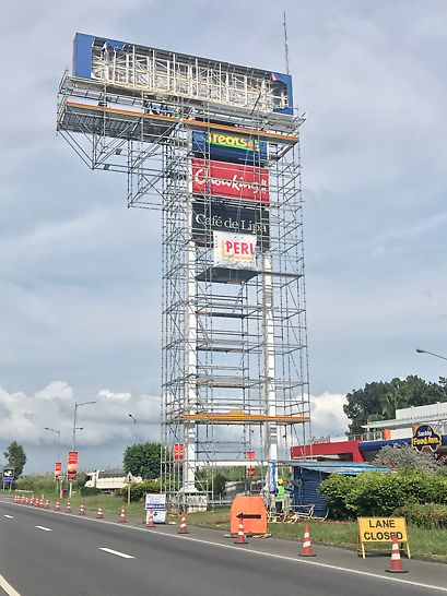 The above project aims to rehabilitate the existing 22-meter High Modular Signage in front the Petron Gas Station located at STAR Tollways Northbound, Lipa City, Batangas.