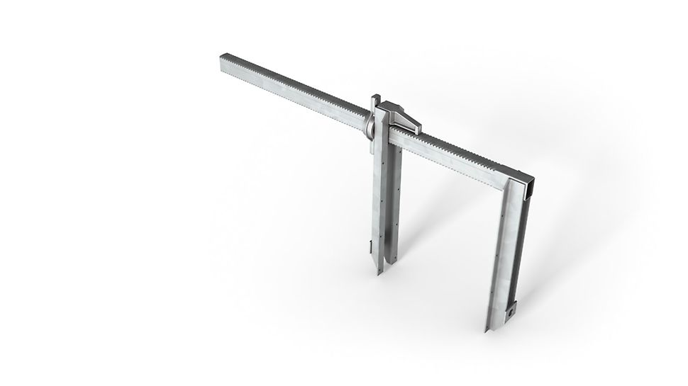 Die Bauweise der Schalzwingen ist robust und baustellengerecht.