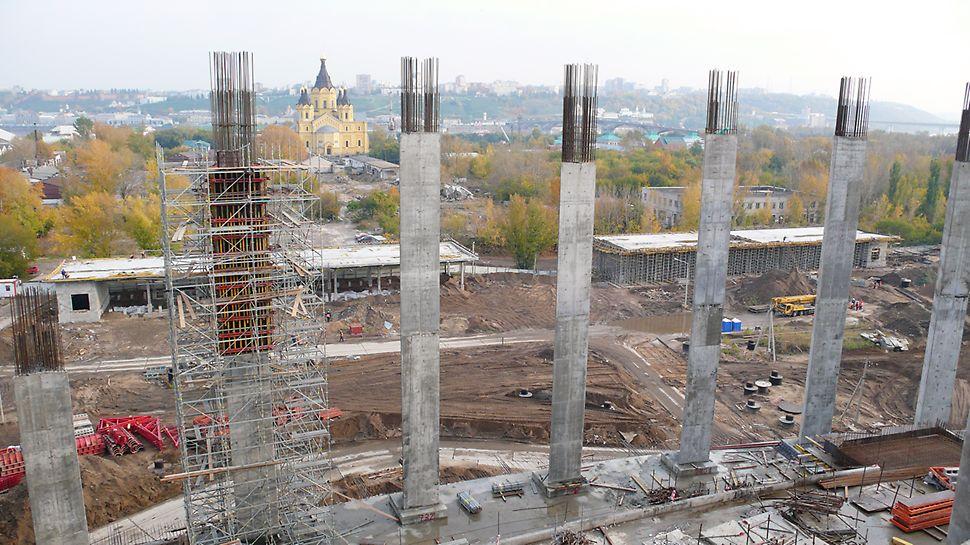стадион, чм по футболу, нижний новгород, строительство стадиона