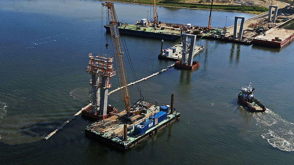 Fjordforbindelsen: Fremdrift/oversigt